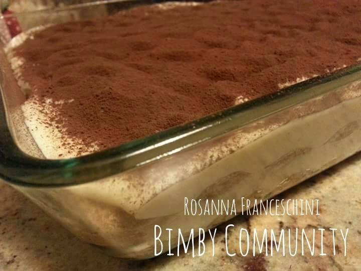 Ricetta Tiramisu Savoiardi Bimby.Tiramisu Con Crema Bimby